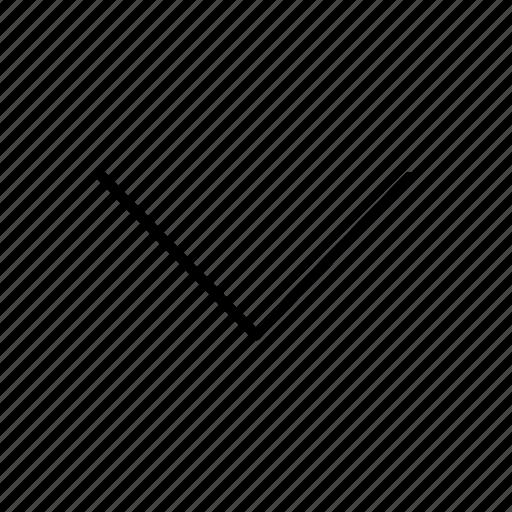 down, down arrow icon