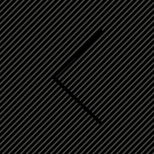 arrow, back, back arrow, left arrow icon