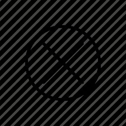 close, delete, x icon