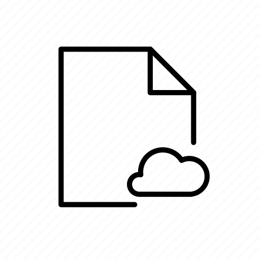 cloud doc, cloud file, file type icon