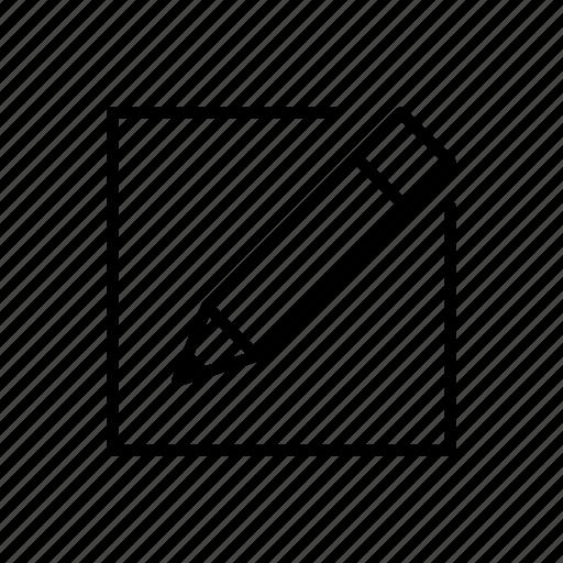 edit, new, pencil, write icon