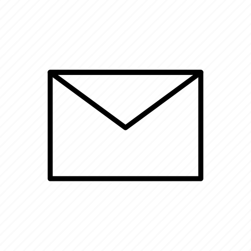 contact, envelope, letter, mail icon