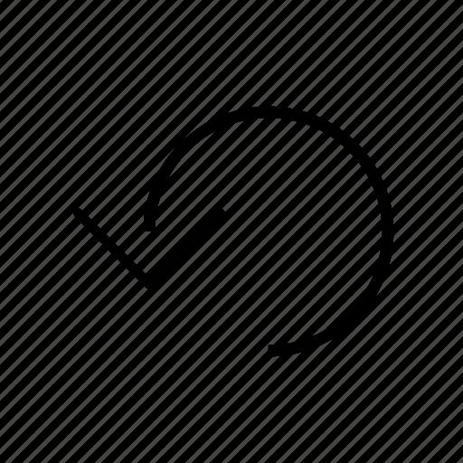 modern, refresh, reload icon