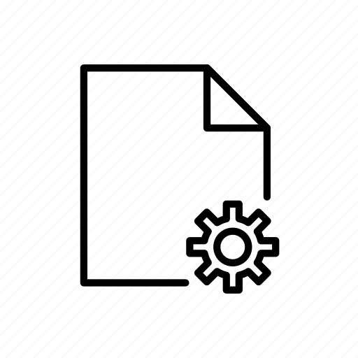 doc, preferences doc, settings doc icon