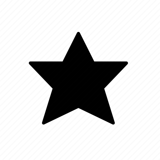 favorite, full star, rate icon
