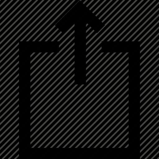 file, send, storage, upload icon