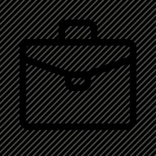 briefcase, job, office, portfolio, suitcase, ui, work icon