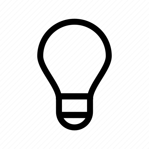 bulb, idea, lamp, light, lightbulb, tip, ui icon