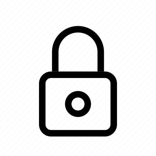 lock, locked, protection, secure, security, ui icon