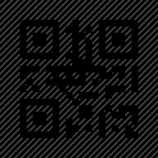 barcode, code, qr, scan, scanner, ui icon