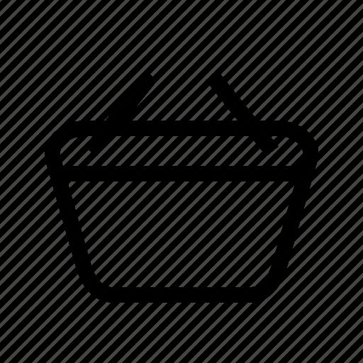 basket, buy, cart, commerce, ecommerce, shopping, ui icon