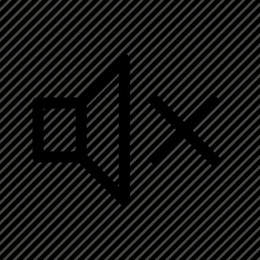 audio, mute, player, sound, speaker, ui, volume icon