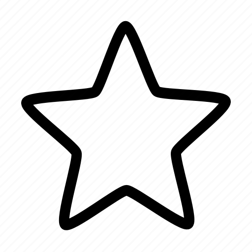 bookmark, favorite, rate, rating, star, ui icon