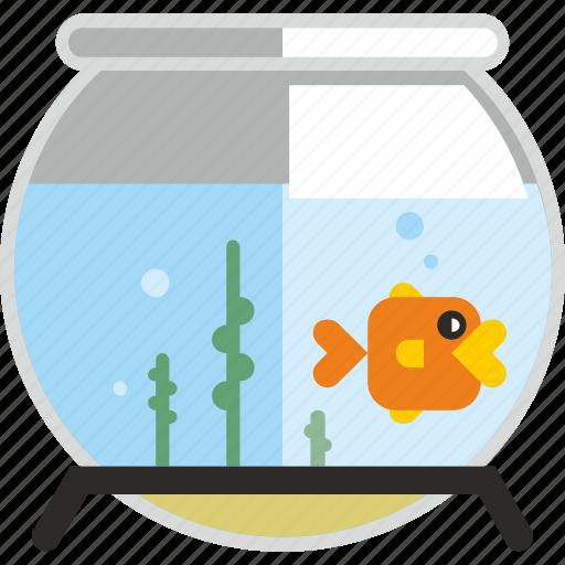 Aqua, aquarium, fish, pet, water icon - Download on Iconfinder
