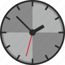 clock, time, wall, watch icon