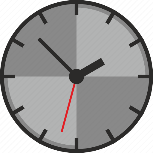 Clock, time, wall, watch icon - Download on Iconfinder