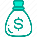 bag, dollar, investment, money icon