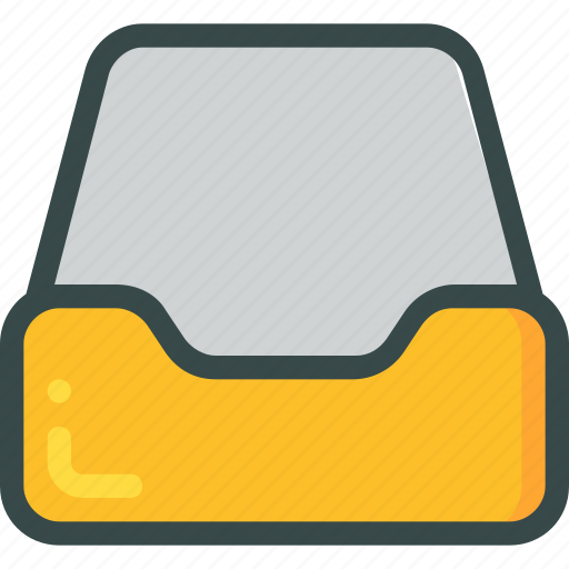 archive, document, empty, library icon