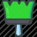 brush, color, design, theme icon