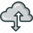 cloud, connection, seo, server, storage icon