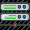 data, drive, seo, server, share icon