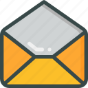 email, envelope, letter, message, seo icon
