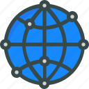 development, globe, internet, seo icon