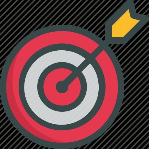 goal, seo, target icon