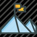 goal, mountain, seo, top