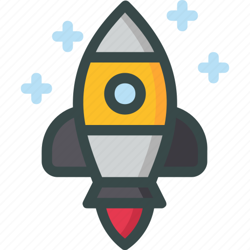 launch, mission, rocket, seo, space icon