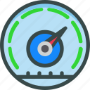 dashboard, gauge, performance, seo, speed icon