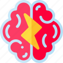 brain, brainstorm, creative, idea icon