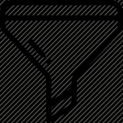 conversion, filter, funnel icon