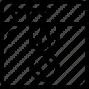 page, rank, seo, web icon