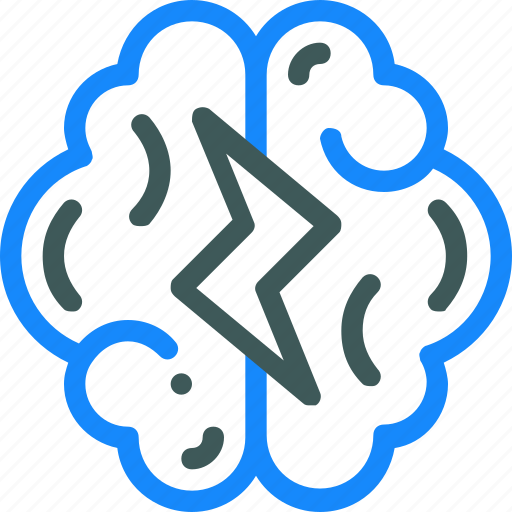 brain, brainstorm, creative, idea icon