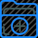 add, document, file, folder, office icon