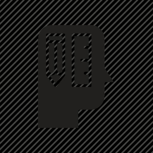 Creative, head, mind, thinking icon - Download on Iconfinder