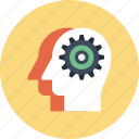 head, human, mind, team, teamwork, thinking, work icon