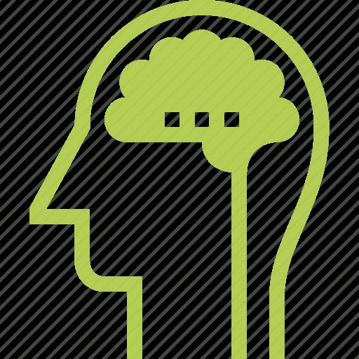 Brain, head, human, idea, intelligence, mind, thinking icon - Download on Iconfinder