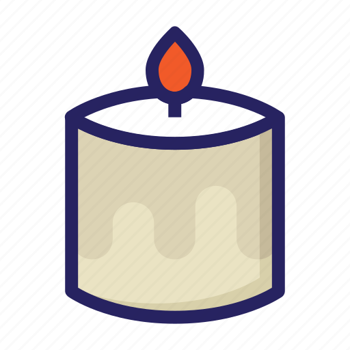 candle, celebration day, christianity, easter, holiday, light, spring icon