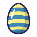 celebration day, christianity, colorful egg, easter, egg, holiday, spring icon