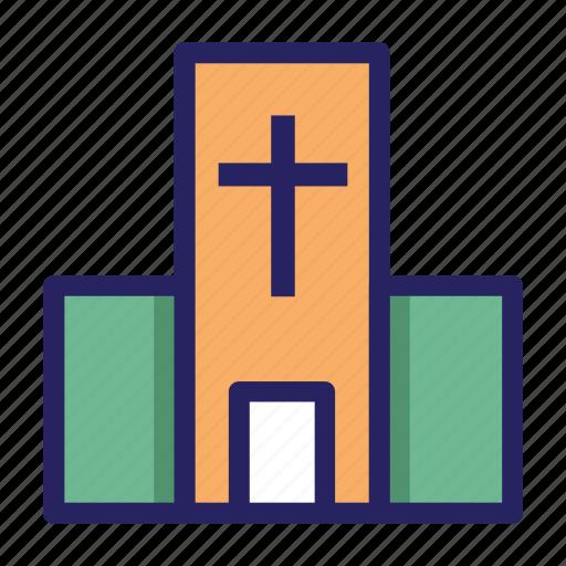 catholic, celebration day, christianity, church, easter, holiday, spring icon