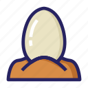 celebration day, christianity, easter, egg, hatching egg, holiday, spring icon