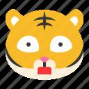 avatar, emoji, shock, surprise, tiger