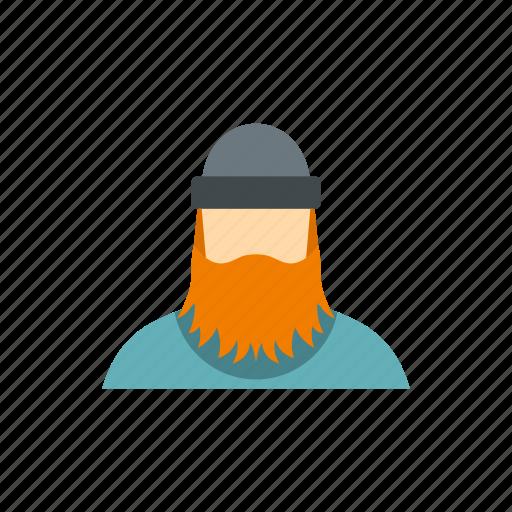 beard, character, forestry, lumberjack, male, man, worker icon