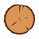natural, nature, stump, timber, tree, wood, wooden icon