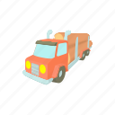 cartoon, log, timber, transport, transportation, truck, vehicle icon