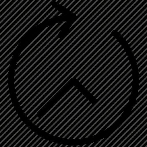 arrow, creative, grid, hour, line, shape, sixty-minutes, time icon