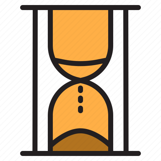 hourglass, time, timer, watch icon