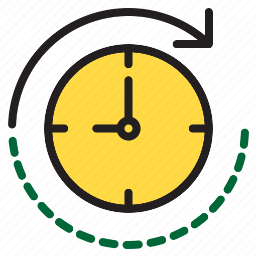 time, timer, watch icon